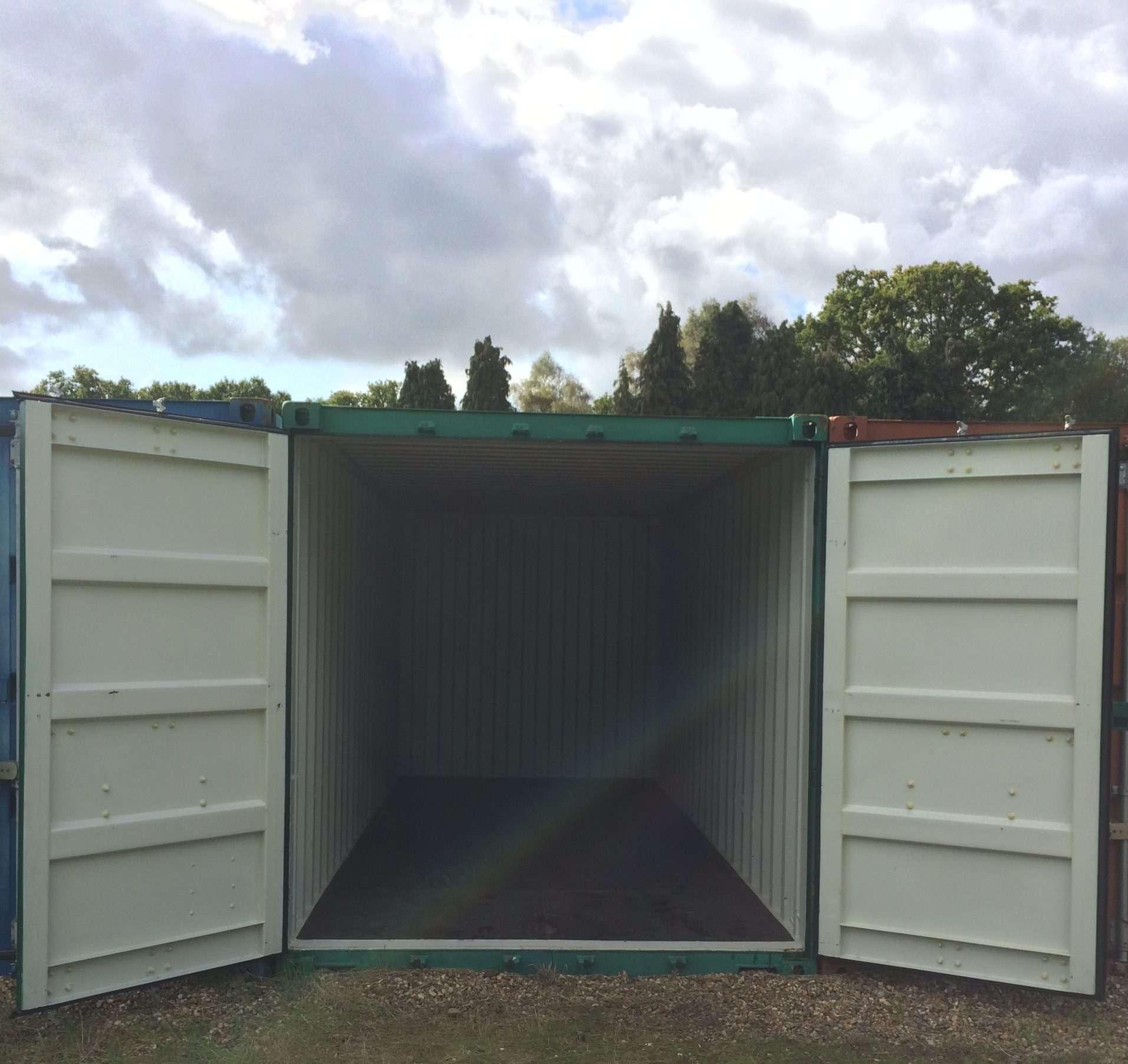container storage west sussex
