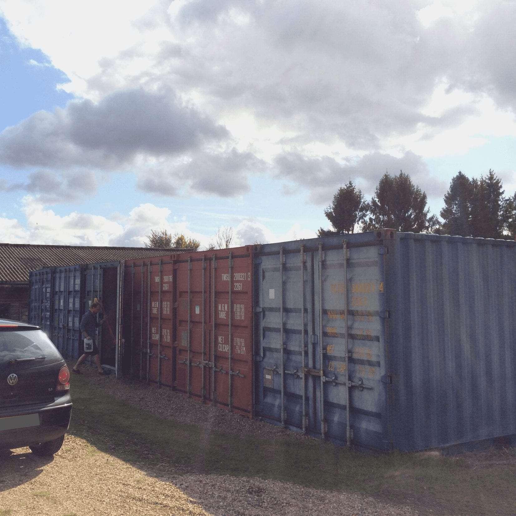 storage solution west sussex customers